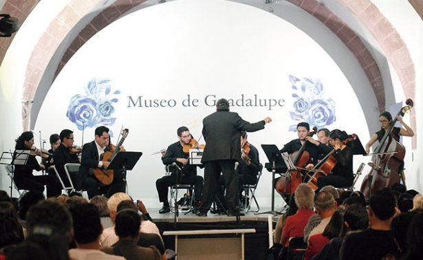 Ensamble Aramara encantó en el Museo de Guadalupe