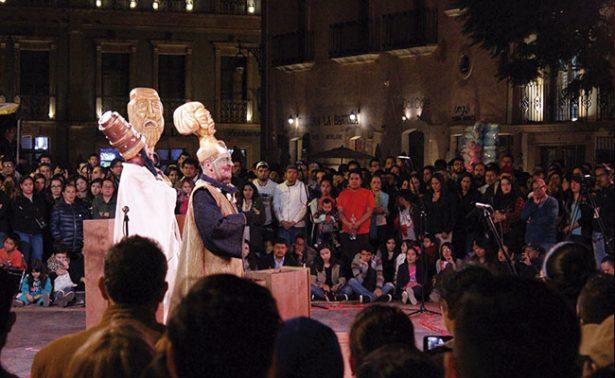 Edipo Rey en el Festival de Teatro de Calle