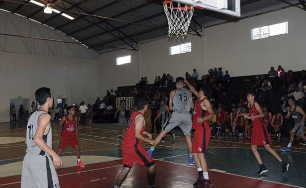 Fresnillo superó a Zacatecas en basquetbol