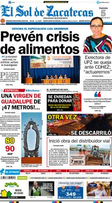 El Sol de Zacatecas 5 de octubre 2017