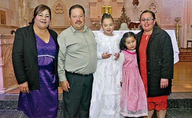 Andrea Castañeda recibió a Cristo en su vida