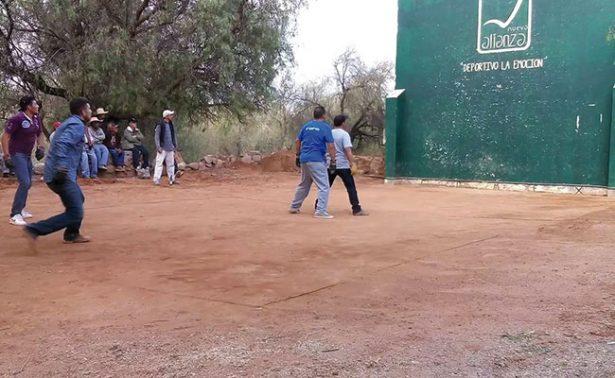 El rebote, una tradición en todo Zacatecas