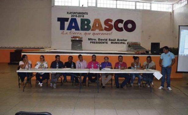 Autorizan obras por tres mdp en Tabasco, Zacatecas