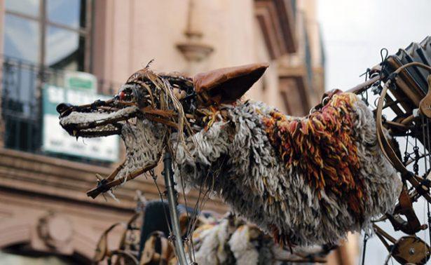 Las bestias danzaron por las calles de Zacatecas