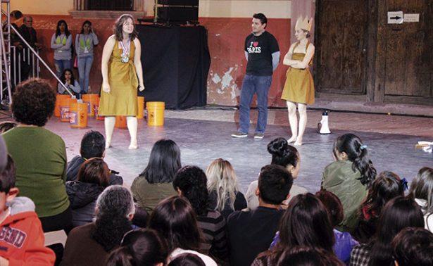 """""""Cassandre, chut de Troie"""" en Festival de Teatro de Calle"""