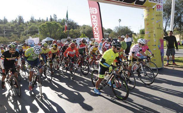 Avanza el Tour de Ciclimo de Zacatecas