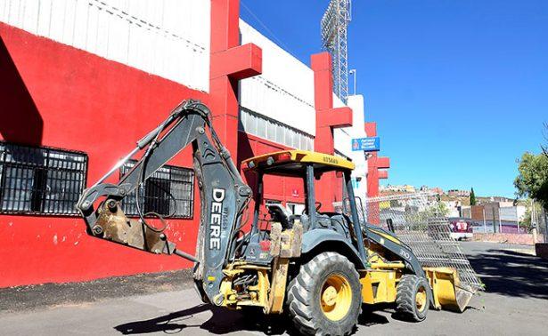 Inició la renovación del estadio Francisco Villa