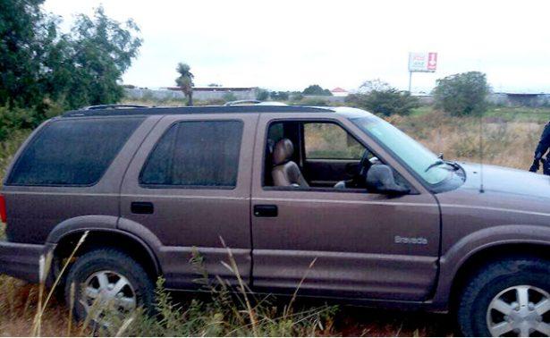 Localiza PEP dos vehículos, uno fue robado en Aguascalientes