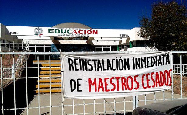 Demandan a seis docentes del MDMZ en Fresnillo