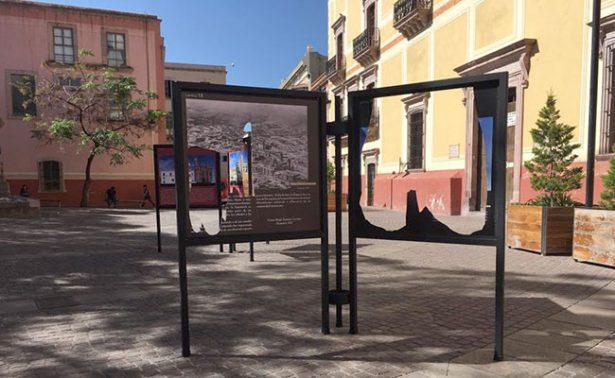 Cuatro jóvenes vandalizaron exposición en la capital zacatecana