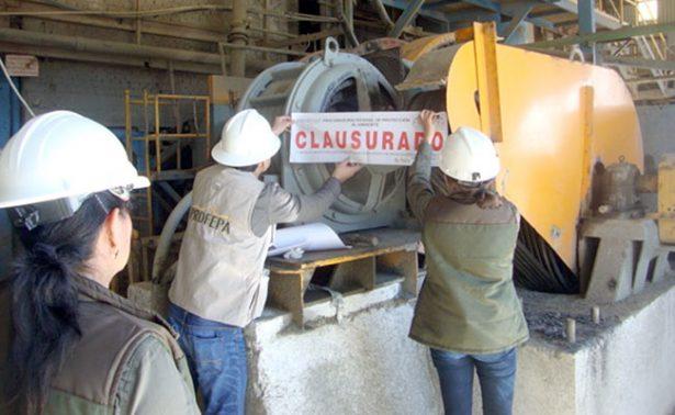 Clausura Profepa mina en Vetagrande, Zacatecas