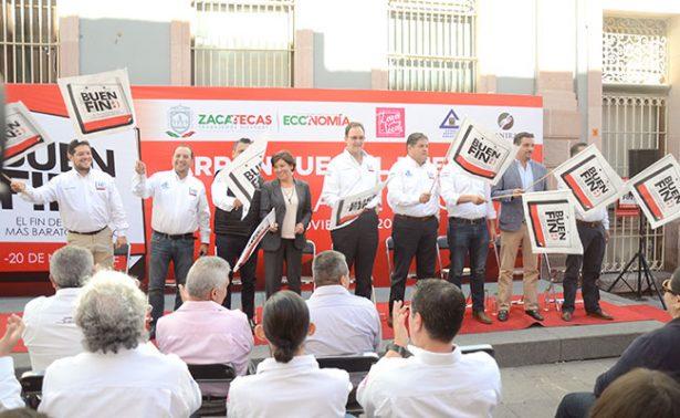 Prevén en Zacatecas derrama económica de 100 mdp en el Buen Fin