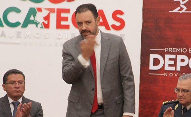 Gobernador de Zacatecas viajará a China