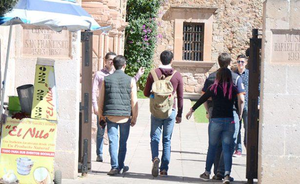 Zacatecas registra temperatura de 9 grados bajo cero