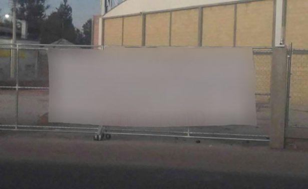 Colocan narcomantas en tres municipios de Zacatecas