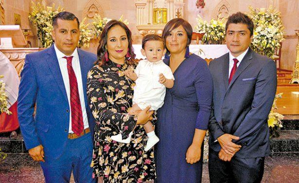 Elias Ruvalcaba recibió las aguas bautismales