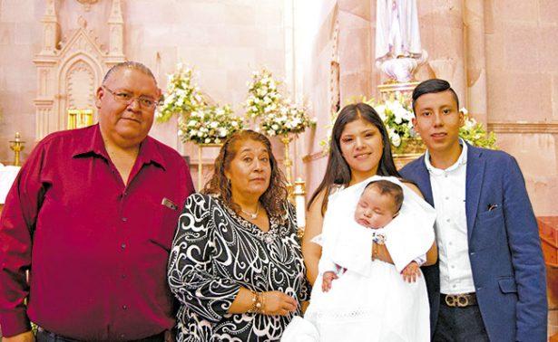 Mateo recibió el sacramento del bautismo