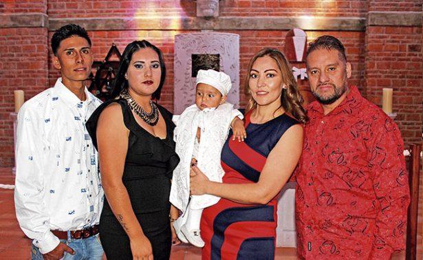 Tadeo Yareth recibió su primer sacramento