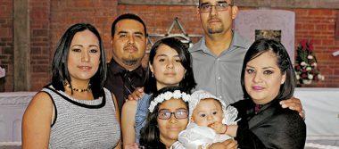 Bautizaron a la pequeñita Zara Itzayana