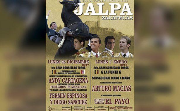 Presentan en Jalpa cartel taurino de feria