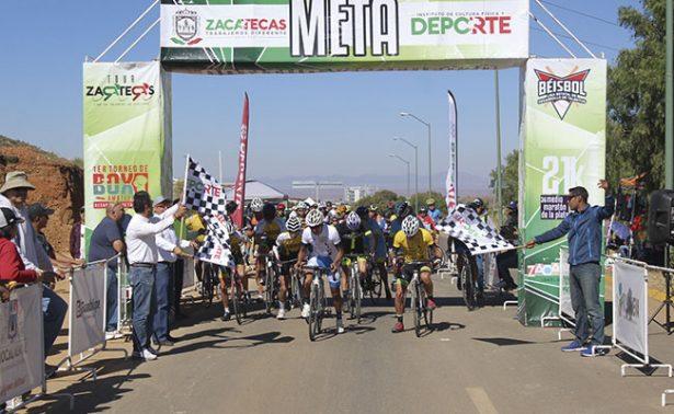 Culminó el Tour Zacatecas de Ciclismo