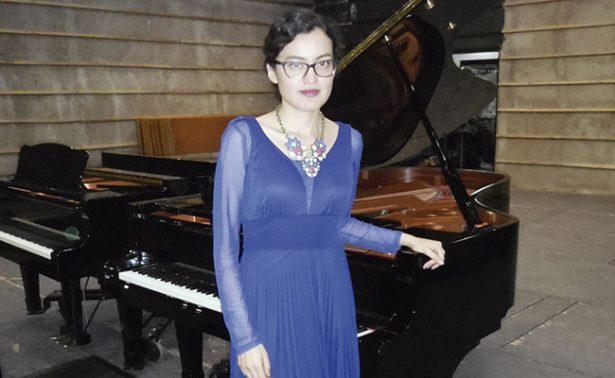 María Arroyo; la nueva pianista de Zacatecas