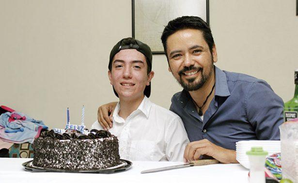 Celebraron el cumpleaños 17 de Alejandro Jan
