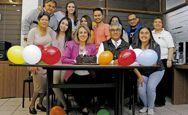 Un cumpleaños muy feliz para Olga García