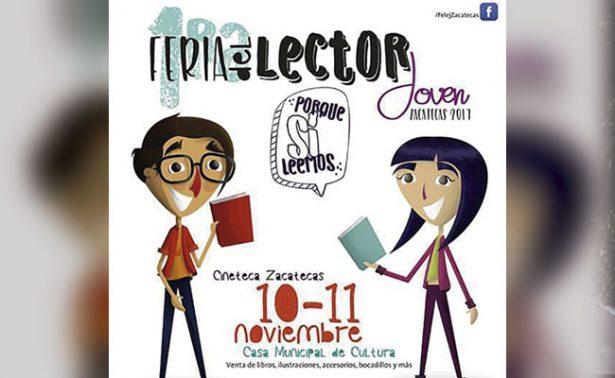 """Llegará a Zacatecas la """"Feria del lector joven"""""""