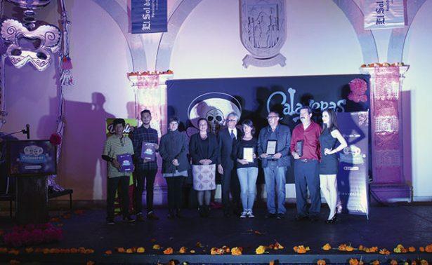 Premiación de calaveras literarias El Sol de Zacatecas