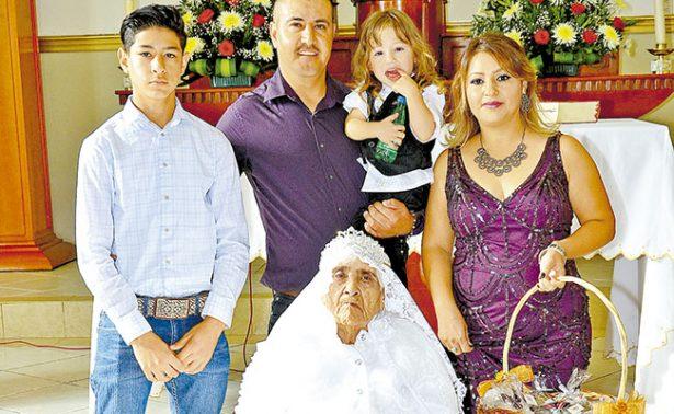 Juanita Miramontes celebra un centenario de vida