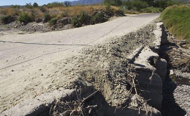 Demandan puente nuevo habitantes de Juchipila