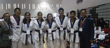 Oro, plata y bronce para el taekwondo zacatecano