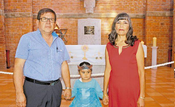 Valeria cumplió tres años y lo celebraron en grande