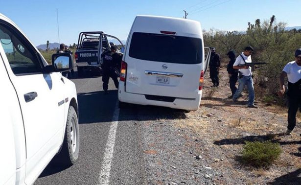 Abandonan en Mazapil camioneta con una tonelada de marihuana