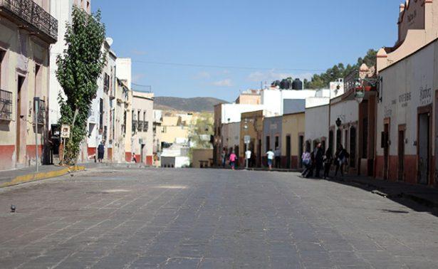 Zacatecas reporta temperatura mínima de dos grados bajo cero