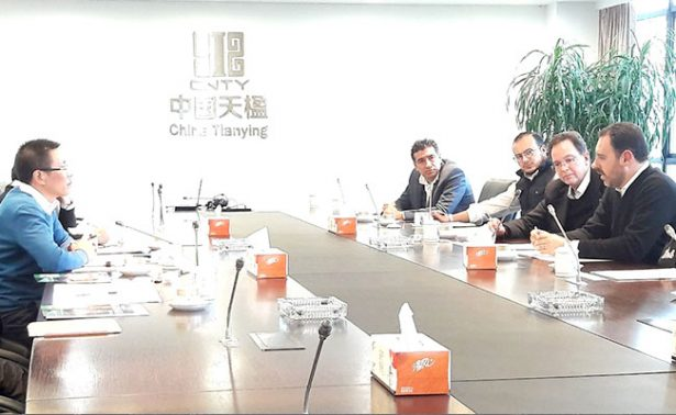 Empresa china pretende invertir en Zacatecas