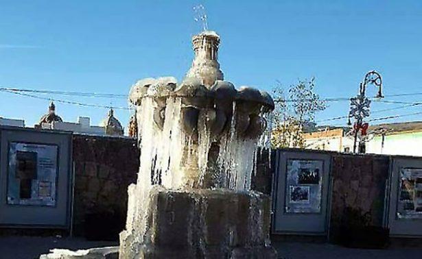 Registró Zacatecas temperaturas gélidas históricas