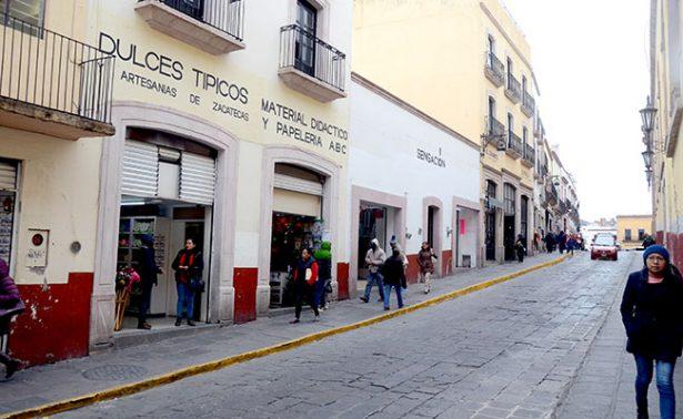 Registra Zacatecas temperatura de menos nueve grados