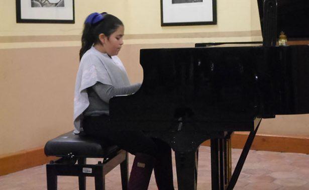 Alumnos de la UAZ ofrecieron concierto de piano