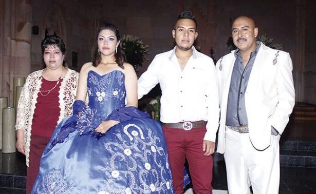 María Guadalupe llegó a la edad de las ilusiones