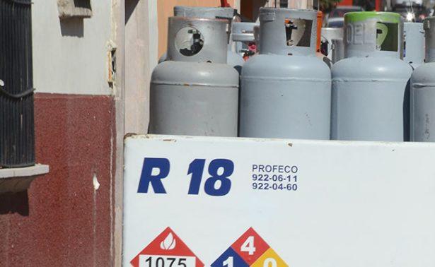 En Zacatecas, el gas alcanzó los 600 pesos