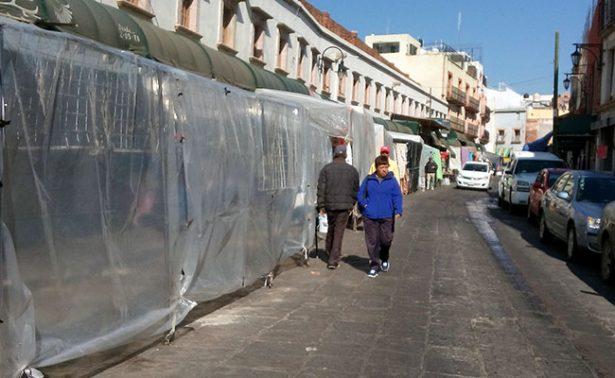 El ambulantaje volvió a invadir calles en Zacatecas