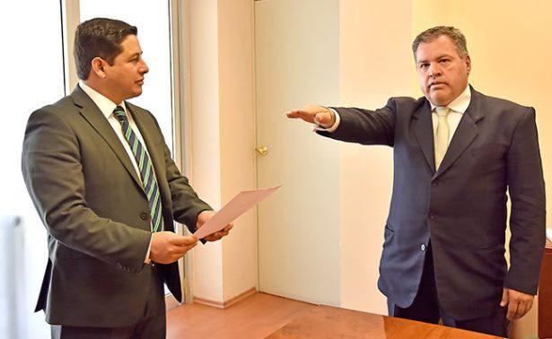 Entra en funciones nuevo procurador fiscal de Zacatecas