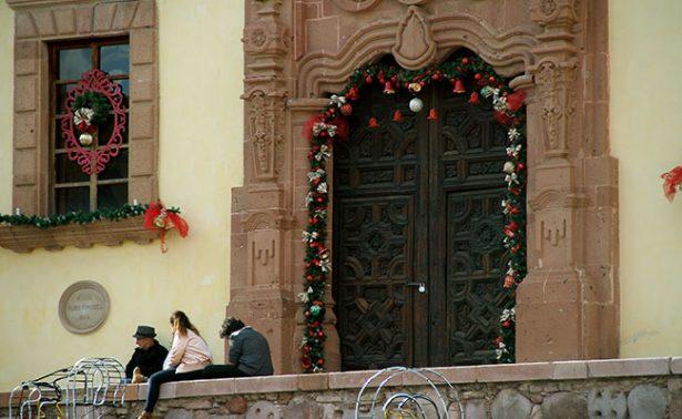 Zacatecas inicia el año con temperaturas mínimas de dos grados