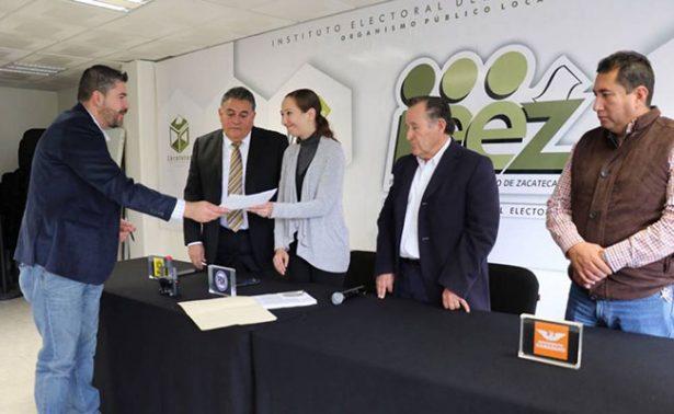 """Solicita """"Por Zacatecas al frente"""" registro ante el IEEZ"""