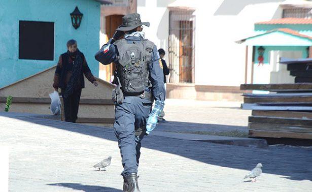 Zacatecas registra temperatura de menos siete grados.