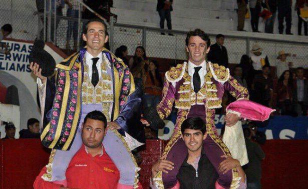 Triunfo grande de Diego Silveti en Tlaltenango