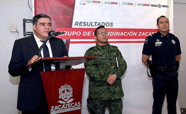 Captura PEP en Pinos, Zacatecas a presunto líder del crimen organizado