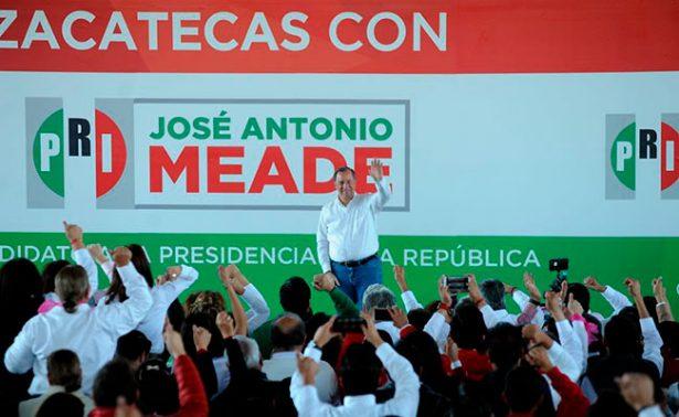 Meade propone un Zacatecas mejor comunicado, seguro e incluyente